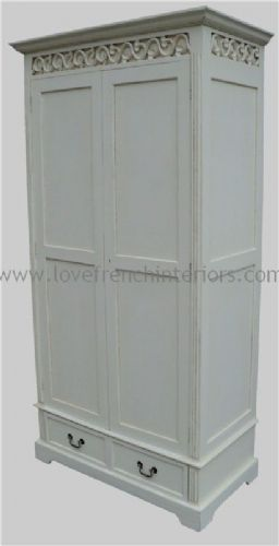 Rochelle Fret Work French Wardrobe in your choice of colour